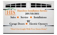 Professionally Installed Garage Door Openers