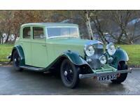 1934 Bentley 3 1/2 Litre Hooper Sports Saloon.
