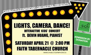 Lights, Camera, Dance! An interactive kids' concert