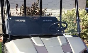 Polaris Ranger midsize half windshield