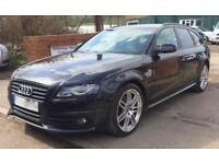 AUDI A4 AVANT TDI S LINE SPECIAL EDITION Black Manual Diesel, 2010