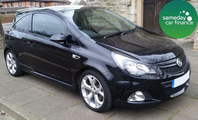 £186.97 PER MONTH BLACK 2013 VAUXHALL CORSA 1.6 VXR PETROL MANUAL 3 DOOR
