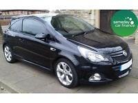 £189.08 PER MONTH BLACK 2013 VAUXHALL CORSA 1.6 VXR PETROL MANUAL 3 DOOR
