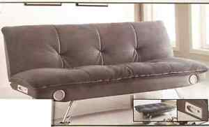 Modern Sofa Bed with  Speaker ( AUX Audio Cable Included )