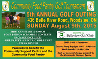 Community Food Pantry Golf Outing