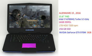 ALIENWARE Gaming 13'' 15'' 17'' starts 899$ to 1599 $