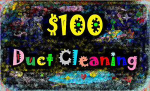 $100 Flat Rate All Ducts Cambridge Guelph Kitchener Waterloo Cambridge Kitchener Area image 1
