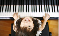 instruments and music teacher for kids