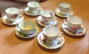 75 tea cups and saucers