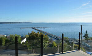 White Rock House for Rent with 3 Level Ocean View - April 1