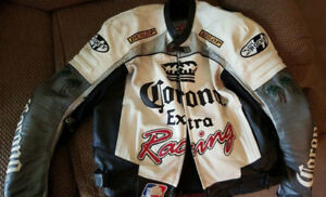 Corona leather Motorcycle Jacket