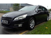 PEUGEOT 508 SW 1.6TD 112bhp EGC SR DIESEL AUTOMATIC ESTATE FULL SPEC CAR