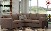 BRAND NEW CANADIAN MADE SECTIONAL!!