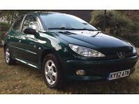 Peugeot 206 Roland Garros 1.6 16v with 4 NEW Michelin tyres & 1 year MOT