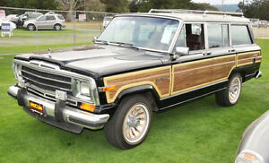 Seeking an 80's Jeep Wagoneer - Still running