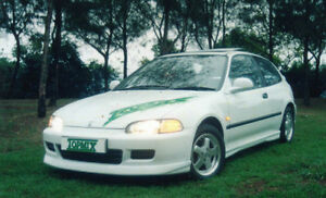 Civic EG 92-95 body kit sales from $79 factory spoiler. on
