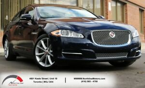 2015 Jaguar XJ Premium Luxury|AWD|Navigation|Pano Roof|Backup|Ma