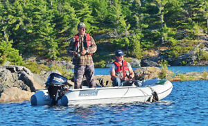 BEST FISHING BOATS- Super Stable & Portable   Boat in a Bag
