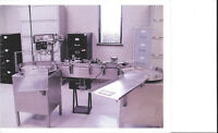 STAINLESS STEEL BOTTLE/VIAL LABELLING MACHINE