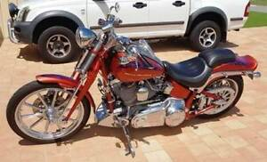 2007 HARLEY DAVIDSON CVO SOFTAIL SPRINGER (FXSTSSE) Singleton Rockingham Area Preview
