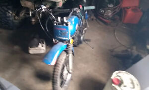 Yemaha MX 80cc dirt bike