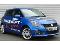 Suzuki Swift 1.6 Sport TPMS Petrol Manual 5 Door Hot Hatch Blue 2015