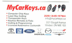 lexus broken key remote shell repair laser cutting service
