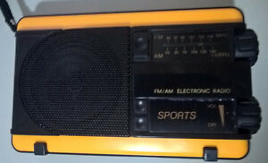 Sports FM/AM Electronic Radio