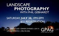 Adult Art Class: Landscape Photography