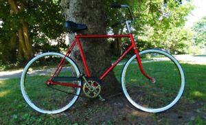 Vintage Raleigh Fixie Single Speed Beach Cruiser Bike