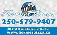 Hermes Pizza Seeking P/T Delivery Driver