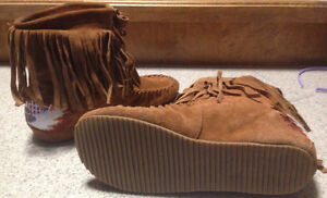 Suede boots moccasins from Aldo 8.5 St. John's Newfoundland image 2