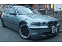 BMW 320TD COMPACT NICELY MODIFIED 190BHP MUST SEE