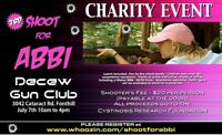 """""""SHOOT FOR ABBI"""" CHARITY EVENT"""