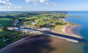 2.5 Acres Along the Northumberland Strait Plus River Frontage