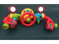 Elc buggy / pushchair toy music n lights
