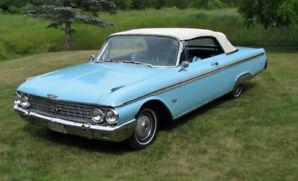 1962 Ford Galaxie Sunliner Convertible North Carolina Car.