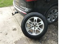 Acura MDX Rims with winter tires