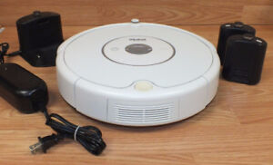 iRobot Roomba Vacuum Cleaner with Virtual Wall n Docking Station