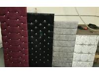 Ottoman and headboards for sale