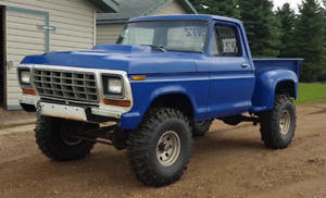 1979 f150 mud bogger with 390FE on nitrous