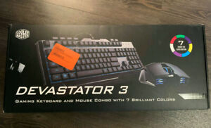 Cooler Master Devastator 3 gaming keyboard