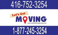 ☻☻(416)752-3254 LEADING MOVING COMPANY FOR THE GTA▪