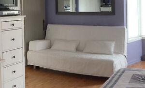 Beau et confortable futons Ikea - blanc