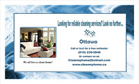 Do you need reliable cleaning service in Ottawa?