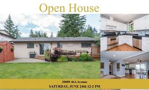 OPEN HOUSE LANGLEY/BROOKSWOOD RANCHER 20009 46A AVE