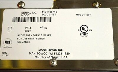 Manitowoc Ice Machine Cleaner System Iaucs-161- Central Model 240-298