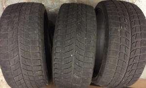 pneus hiver 255/35/R20 Blizzak LM60 Bridgestone 20 pouces
