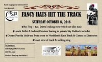 Fancy Hats Hit the Track with Ponoka FCSS!