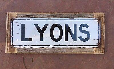 BELLECOUR PLACE LYONS FRANCE VINTAGE HISTORY OLD BW FRAMED ART PRINT B12X775